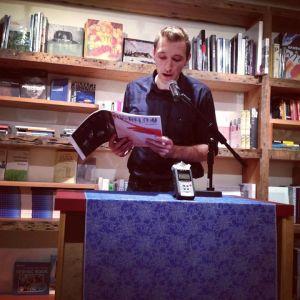 Reading at Sackett Street Series, Sept. 2013
